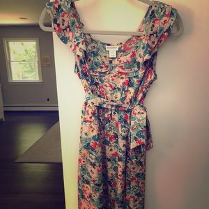 Motherhood maternity Size Small floral dress